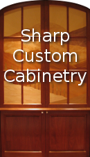 Sharp Custom Cabinetry